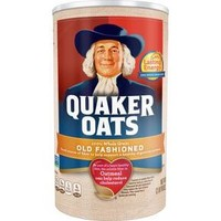 Quaker® Oats Heart Healthy Old Fashioned Oats - 42oz Canister
