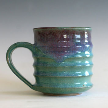 Pottery Coffee Mug, unique coffee mug, handmade ceramic cup, handthrown mug, stoneware mug, pottery mug, ceramics and pottery