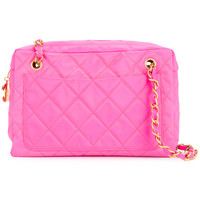 Chanel Vintage Quilted Chain Shoulder Bag - Farfetch