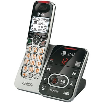 Att Dect 6.0 Big-button Cordless Phone System With Digital Answering System & Caller Id