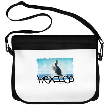 Mexico - Whale Watching Cut-out Neoprene Laptop Shoulder Bag