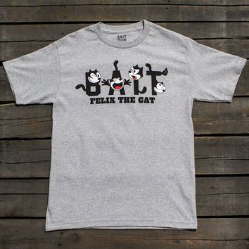 BAIT x DreamWorks Men BAIT Felix The Cat Tee (heather gray)