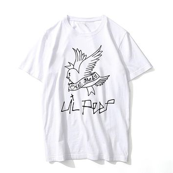 Peep T Shirt Men Summer Graphic Tees rap rapper t-shirt Male hip-hop hip hop hip hop ill peep T Shirt