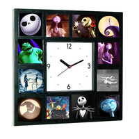 The Nightmare Before Christmas Glow In The Dark 12 Clock numbered LIMITED EDITION