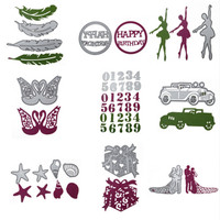 29 Styles house window Crafts mould for christmas decoration Cutting Dies Stencil For DIY Scrapbooking Album Paper card