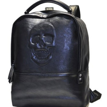 Backpack - Skull - Bags - Men - Modekungen