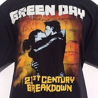 2009 Green Day 21st Century Breakdown Tour 2 sided black t Shirt sz XL new NWOT