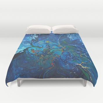 Organic.3 Duvet Cover by DuckyB