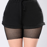 Bout It Shorts - Black