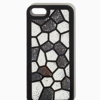 Honeycomb Pearl iPhone 4/4S, 5/5S Case | Technology Accessories - Rock Luxe | charming charlie