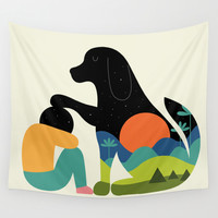 The Best Is Yet To Come Wall Tapestry by Andy Westface