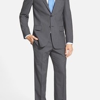 Hart Schaffner Marx Classic Fit Stripe Wool Suit (Online Only)
