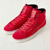 Puma Suede Rebel Mid-Top Sneaker-