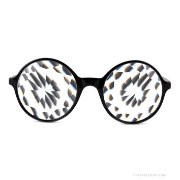 Clear Kaleidoscope Glasses on Sale for $14.95 at The Hippie Shop
