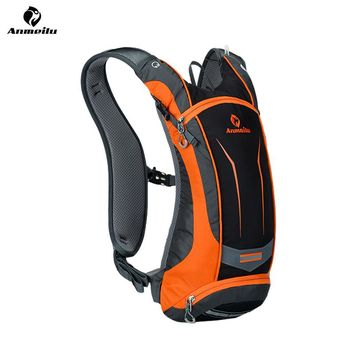 ANMEILU 8L Sports Water Bag Waterproof Cycling Bicycle Bike Backpack Outdoor Camping Hiking Climbing Bag Hydration Backpack