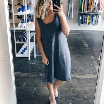 Grace Raw Edge Shift Dress