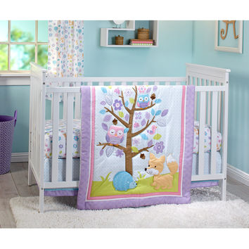 Little Love by Nojo Adorable Orchard Infant 3 Piece Crib Bedding Set | Wayfair