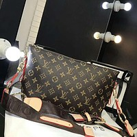 LV Popular Women Shopping Bag Leather Zipper Crossbody Satchel Shoulder Bag I-AGG-CZDL