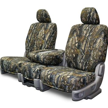 Custom Fit Seats Covers - Nissan Titan Low Back Seats - Realtree Hardwoods Camo