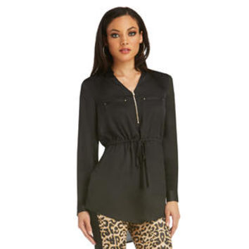 Women's Deep V-Neck Tunic - Sears