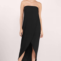 True Love Strapless Midi Dress