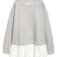 H&M Wide-cut Sweatshirt $24.99