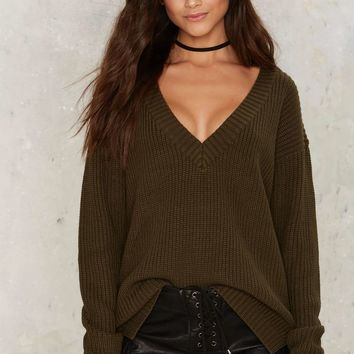 True Nature V-Neck Sweater