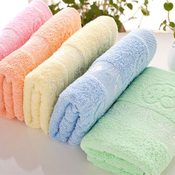 35*75CM Microfiber Fast Drying Bath Beach 12 Color Towel Swimwear Gym Camping