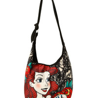 Disney The Little Mermaid Ariel Tattoo Hobo Bag