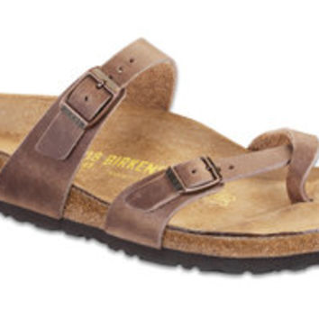 Mayari  Tobacco Oiled Leather Sandals | Birkenstock USA Official Site
