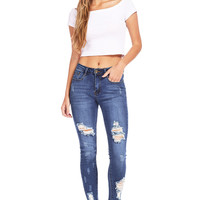 Rogue Ankle Skinny Jeans