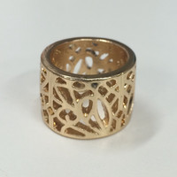 Gold Shape Ring