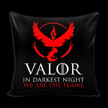 "Pokemon valor in darkness knight we are the flame Pillow Cover 16"" - TL00627PL"