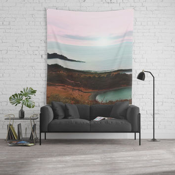 Pastel vibes 75 Wall Tapestry by vivianagonzalez