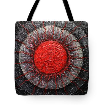 "Agni God of Fire Tote Bag 18"" x 18"""