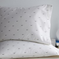 Whale Sheet Set - Platinum