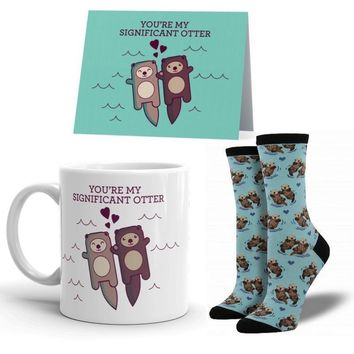 Significant Otter Mug Package