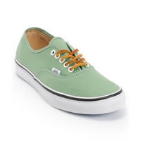 Vans Authentic Twill Shale Green & True White Shoe
