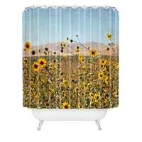 Lisa Argyropoulos Roadside Wild Ones Shower Curtain