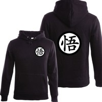 NEW Hot Dragonball Hoodie Winter Fleece Mens Sweatshirts