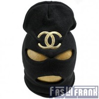 Chanel Black Balaclava | F as in Frank Vintage Clothing