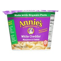 Annie's Homegrown White Cheddar Microwavable Mac and Cheese Cup - 2.01 oz