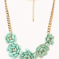 FOREVER 21 Sugar Town Floral Bib