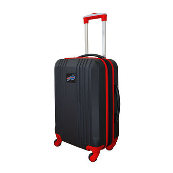 Buffallo Bills  21'' Hardcase two-tone Luggage Carry-on Spinner-Red