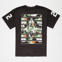 Ayc Forbidden Diamond Boys T-Shirt Black  In Sizes