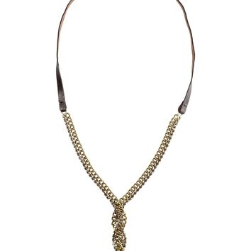 Pinko Black Necklace
