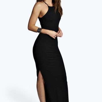 Lizzie Ribbed Maxi Dress