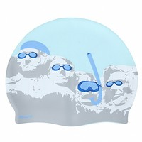 Sporti Swimming Presidents Silicone Swim Cap at SwimOutlet.com