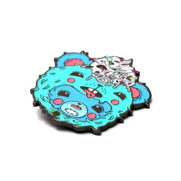 The Official Summer Camp x Elloo 'Furry Cupcake' Pin