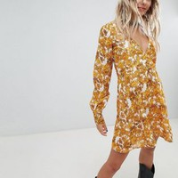 Sacred Hawk Dress In Baroque Floral at asos.com